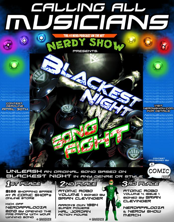 blackest night poster v2 sm