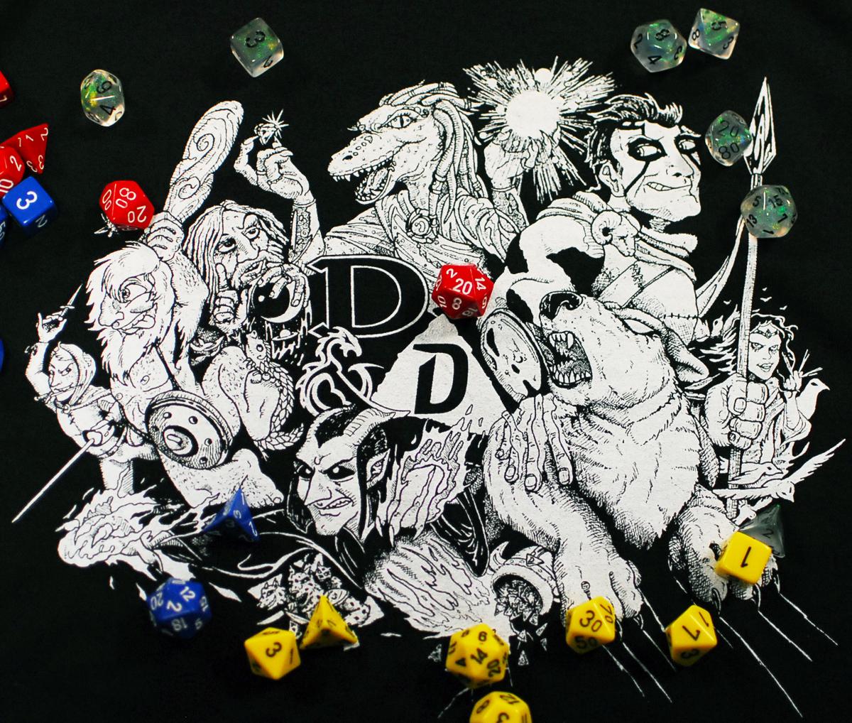 DnD Dungeons and Doritos Shirt