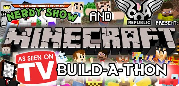Minecraft Build-A-Thon: Television