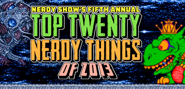 Top 20 Nerdy Things 2013 Banner