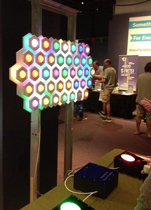 Hexadome Paintball Lightwall
