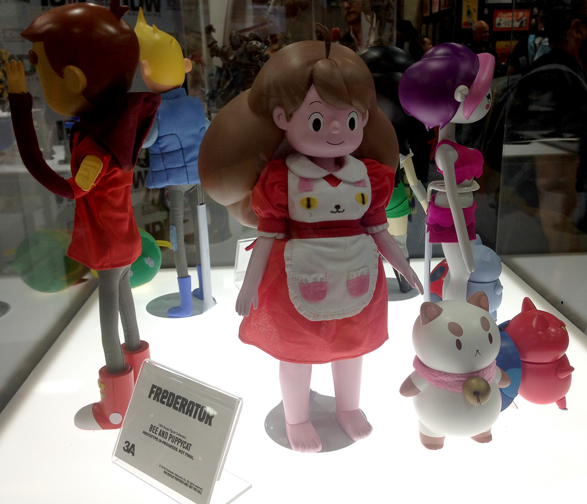 3A bee and puppycat