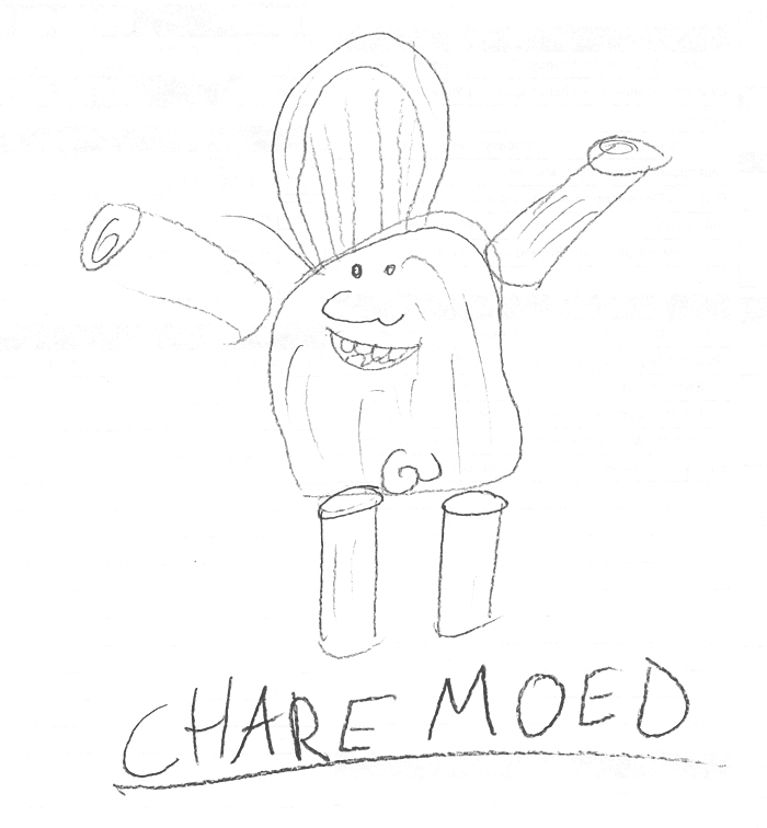 chare moed - by mikel