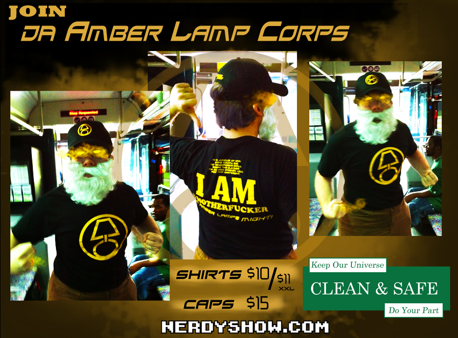 Join Da AMBER LAMPS CORPS