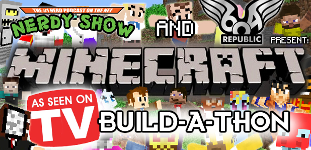 Minecraft Build-A-Thon: Television