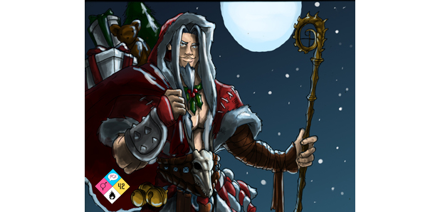 Flame On :: Happy Harnessmas!