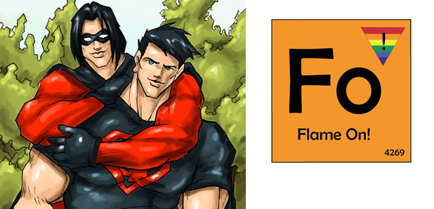 Flame On :: Crossplaying with the Gay Comic Geek