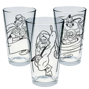Dungeons and Doritos Character Glasses Set 1