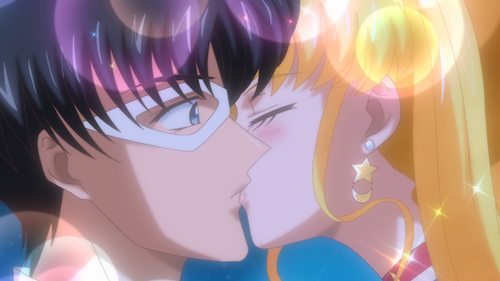 sailor moon crystal episode 8 - kiss