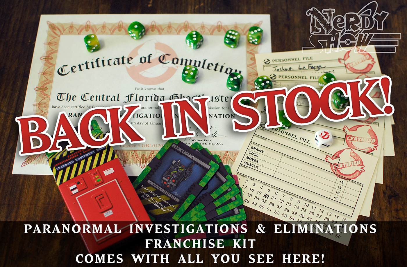 ghostbusters rpg franchise kit