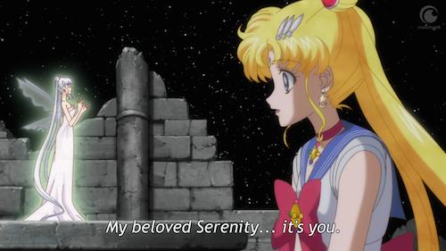 sailor moon crystal episode 10 - little queen serenity