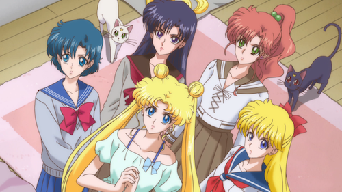 sailor moon crystal episode 9 - go to the moon