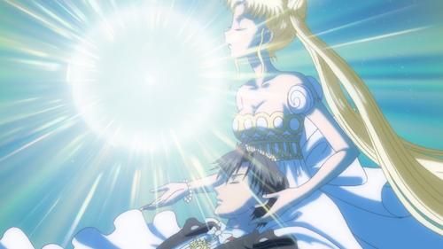 sailor moon crystal episode 9 - princess serenity legendary silver crystal