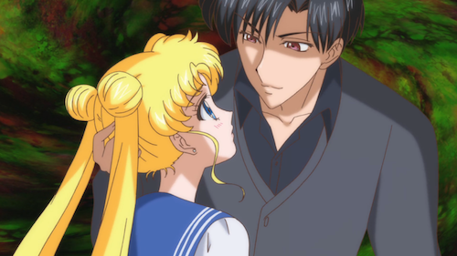 sailor moon crystal episode 11 - Endo tries to brainwash Usagi