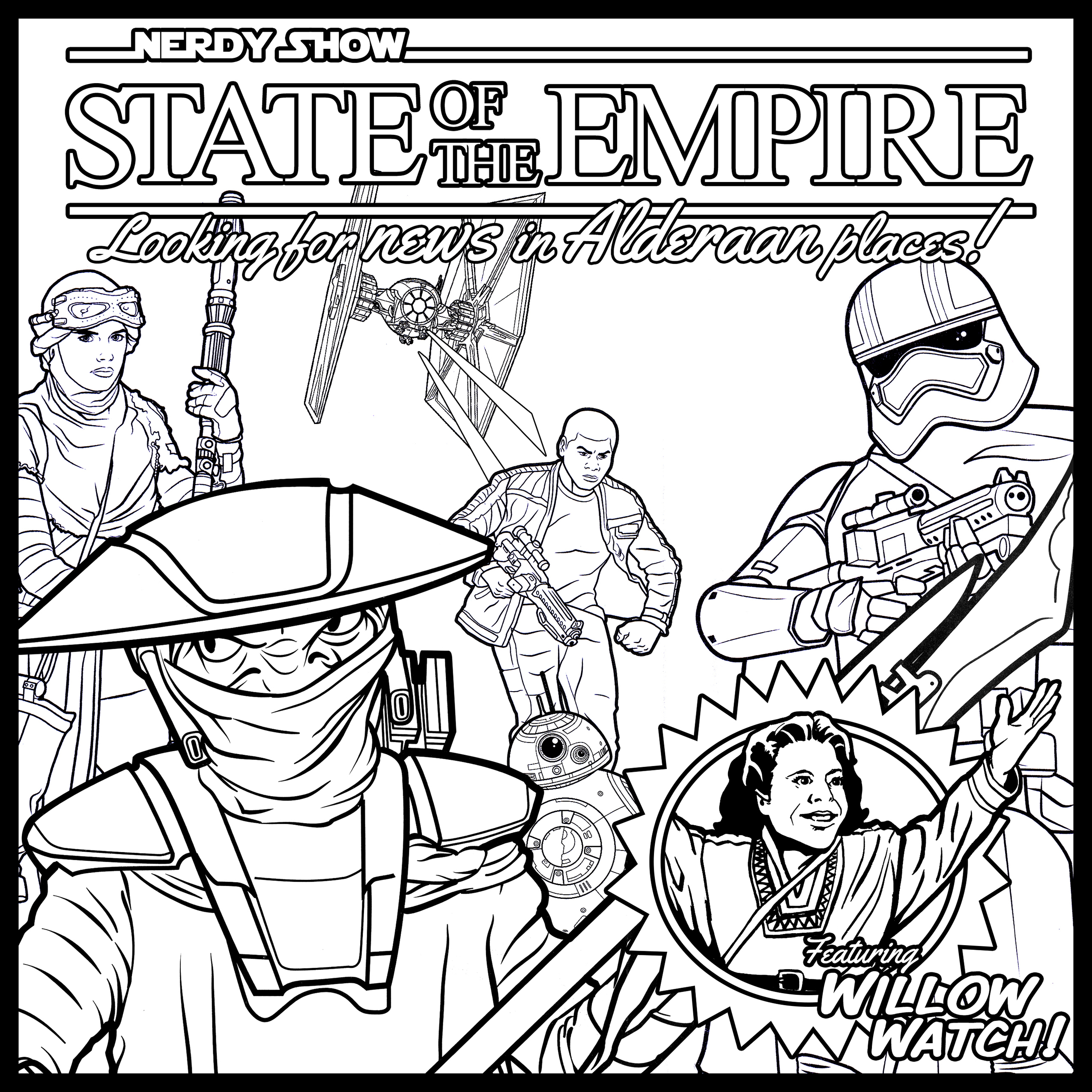 state of the empire coloring contest
